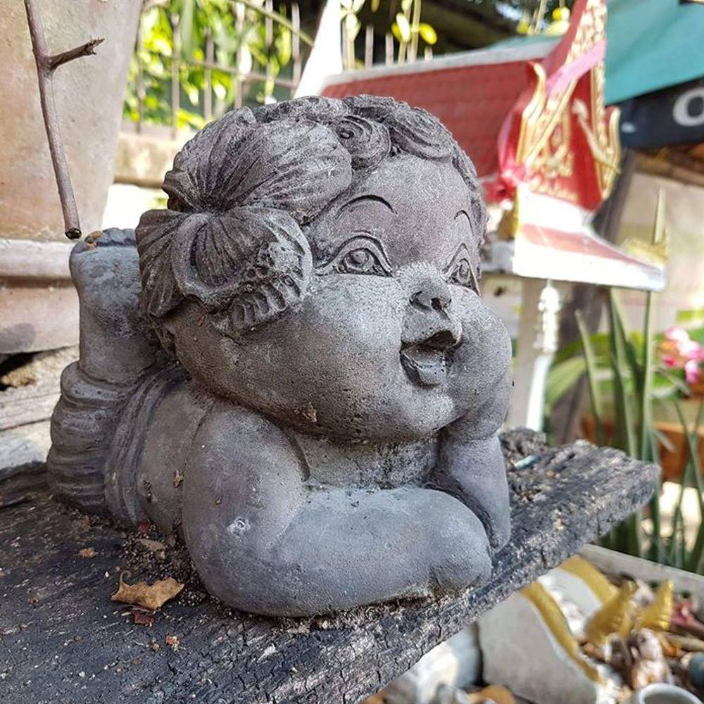 Statuette chérubin
