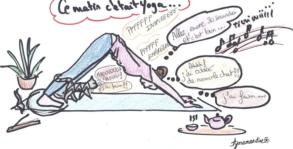 Ce matin, c'était Yoga !